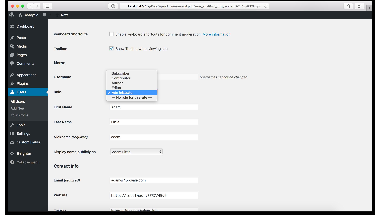 WordPress Site Hacked - User Permissions